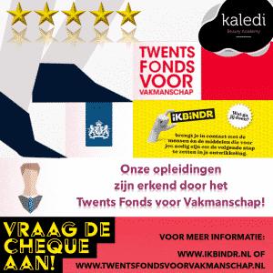 Twenst Fonds voor Vakmanschap - Kaledi Beauty Academy